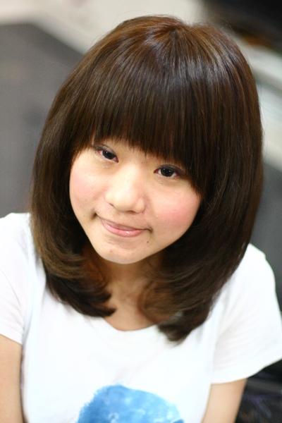 尚洋benny2009-2010流行髮型髮色 短中髮6