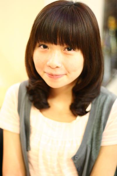尚洋benny2009-2010流行髮型髮色 短中髮7