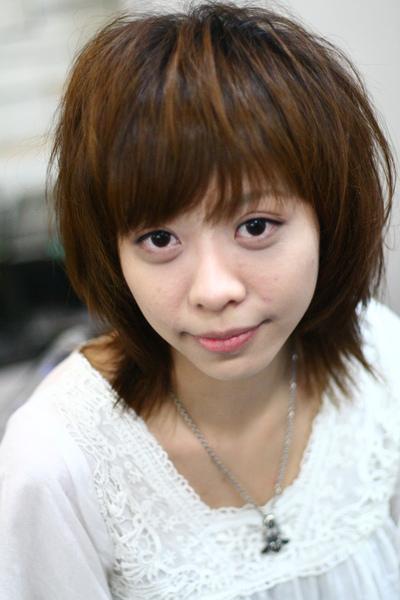 尚洋benny2009-2010流行髮型髮色 短中髮15