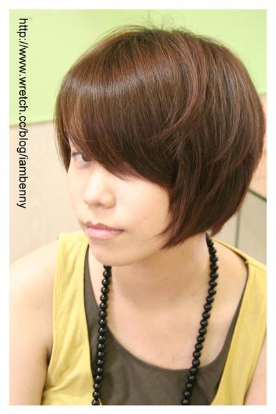 尚洋benny2009-2010流行髮型髮色 短中髮18