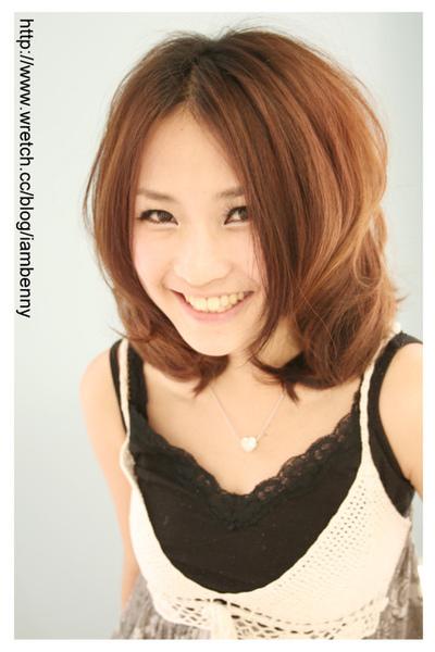 尚洋benny2009-2010流行髮型髮色 短中髮22