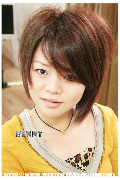 尚洋benny2009-2010流行髮型髮色 短中髮28