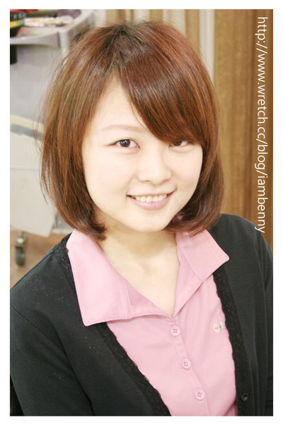 尚洋benny2009-2010流行髮型髮色 短中髮29