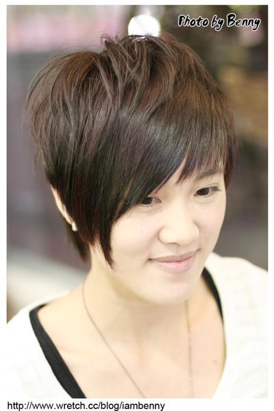 尚洋benny2009-2010流行髮型髮色 短中髮32