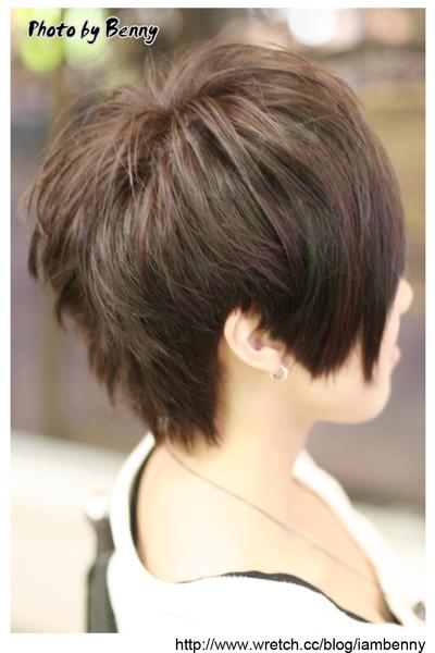 尚洋benny2009-2010流行髮型髮色 短中髮33