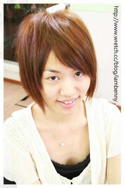尚洋benny2009-2010流行髮型髮色 短中髮34