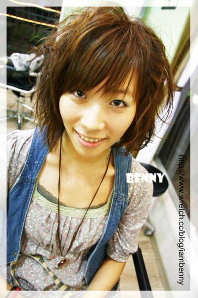 尚洋benny2009-2010流行髮型髮色 短中髮35