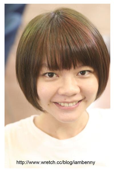 尚洋benny2009-2010流行髮型髮色 短中髮37