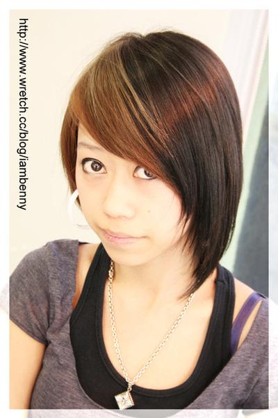 尚洋benny2009-2010流行髮型髮色 短中髮39