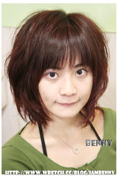 尚洋benny2009-2010流行髮型髮色 短中髮40