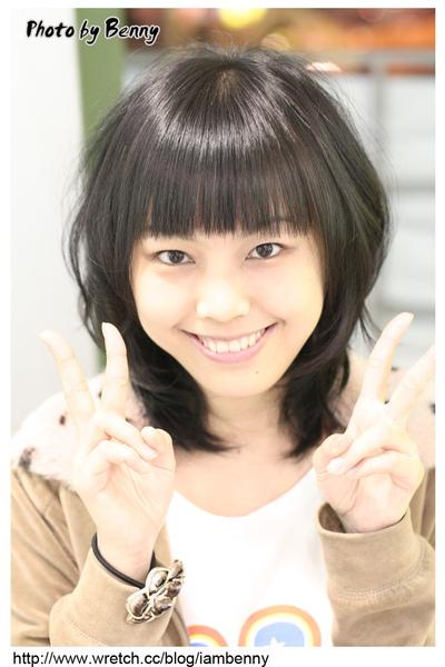 尚洋benny2009-2010流行髮型髮色 短中髮43