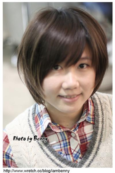 尚洋benny2009-2010流行髮型髮色 短中髮45