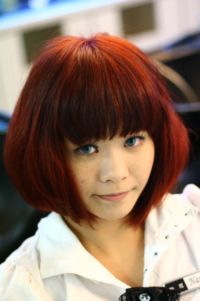 尚洋benny2009-2010流行髮型髮色 短中髮46