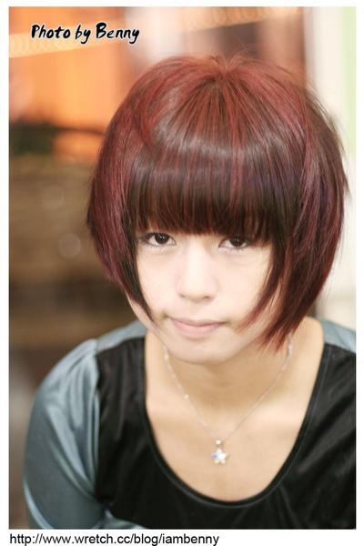 尚洋benny2009-2010流行髮型髮色 短中髮47