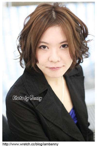尚洋benny2009-2010流行髮型髮色 短中髮53