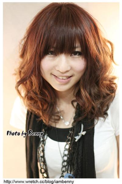 尚洋benny2009-2010流行髮型髮色 短中髮57