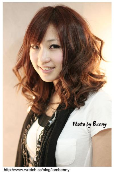 尚洋benny2009-2010流行髮型髮色 短中髮58