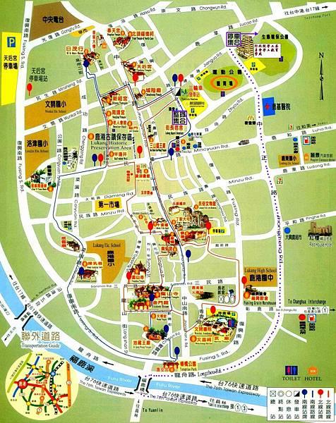 2013銀樓媽集合地圖