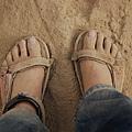 my foot on Tibet