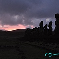 Ahu Tongariki sunrise