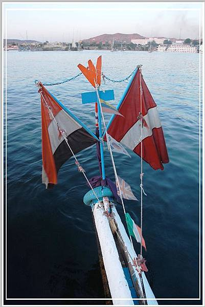 插滿各國的國旗