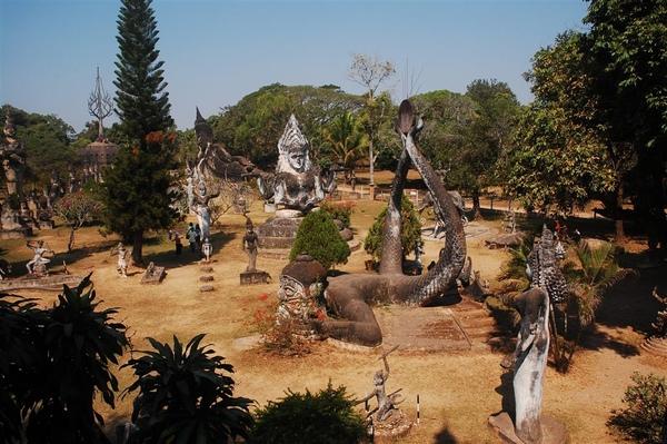 香崑公園全景