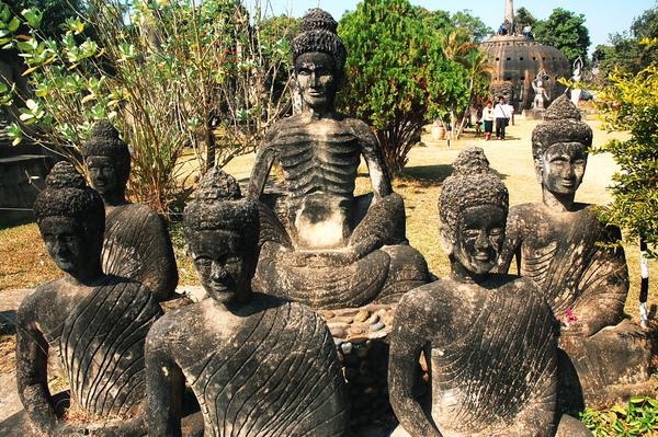 釋迦牟尼佛與五大弟子.JPG