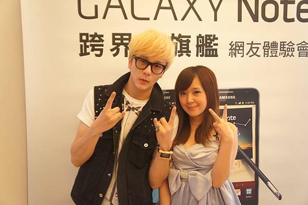 2011/10/30.Gakaxy Note高雄體驗會