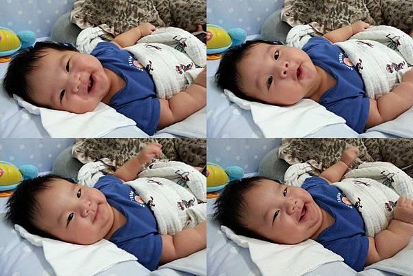 2M24D寶寶笑臉