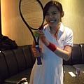 網球美少女