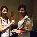 棒球啦啦隊與網球美少女