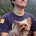 看我和狗的表情多堅毅