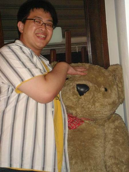 左邊是熊, 喔~不~是史官~