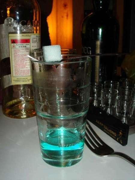 Absinth的燒方糖