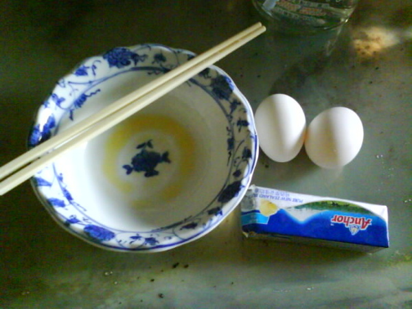 心血來潮料理教室 之 西式半熟炒蛋