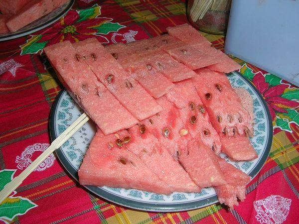 阿川請我們吃西瓜消署
