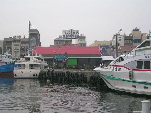 東港往小琉球的碼頭
