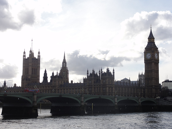 Bridge with Parliament and Big ben