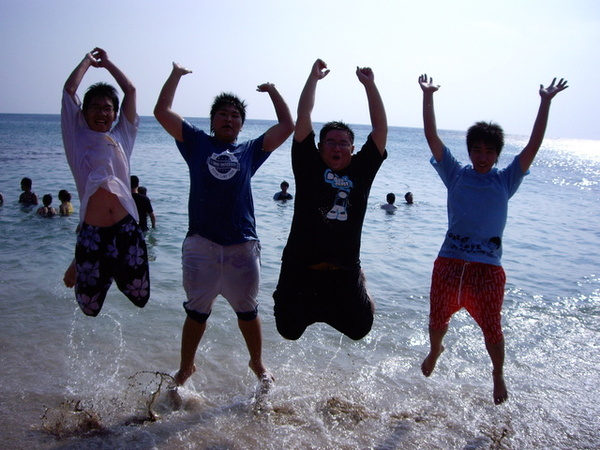 跳躍吧…男孩們