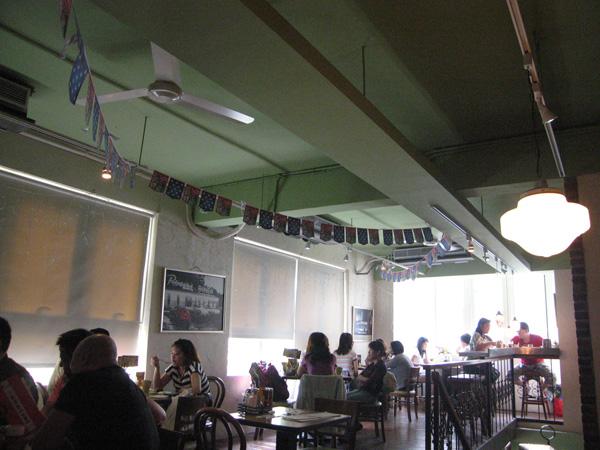 周末@The Diner_2F座位