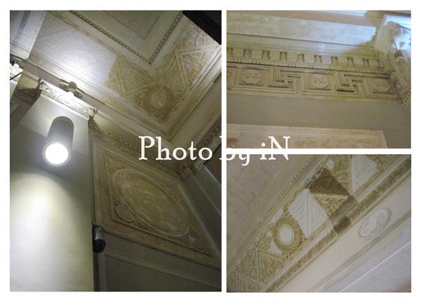 勸業銀行_土銀展示館_保存與修復的壁飾