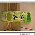 湯種綠奶茶土司用的綠茶粉:妹妹同事送的,說要給我做麵包