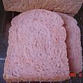 紅麴發芽米土司--切面