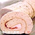 玫瑰草莓乳酪捲-2