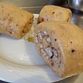 紫米黑糖芋頭饅頭-1