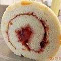橙花橘香蔓莓蛋糕捲-3