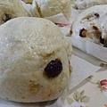 燕麥堅果葡萄乾饅頭-3