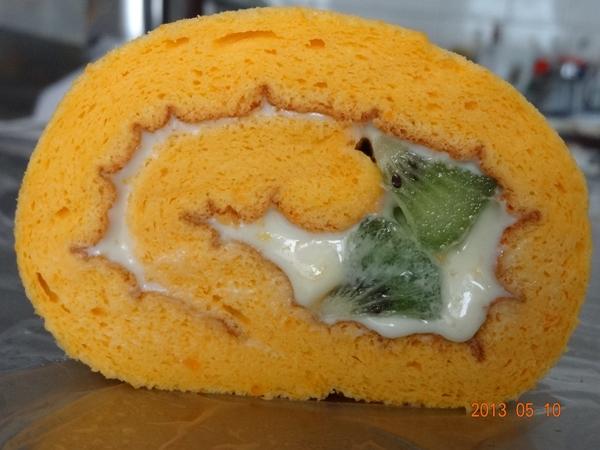 橙花香檸檬乳酪捲-2