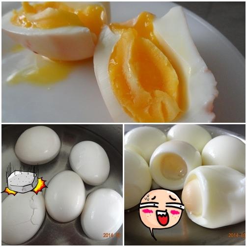 滾水冰蛋煮糖心蛋