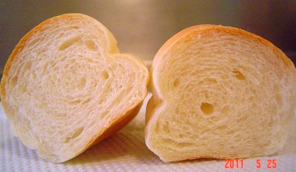 布里麵包切面